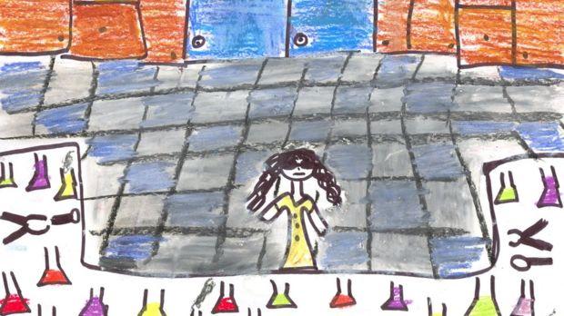 افزایش زنان به عنوان دانشمند در نقاشیهای کودکان